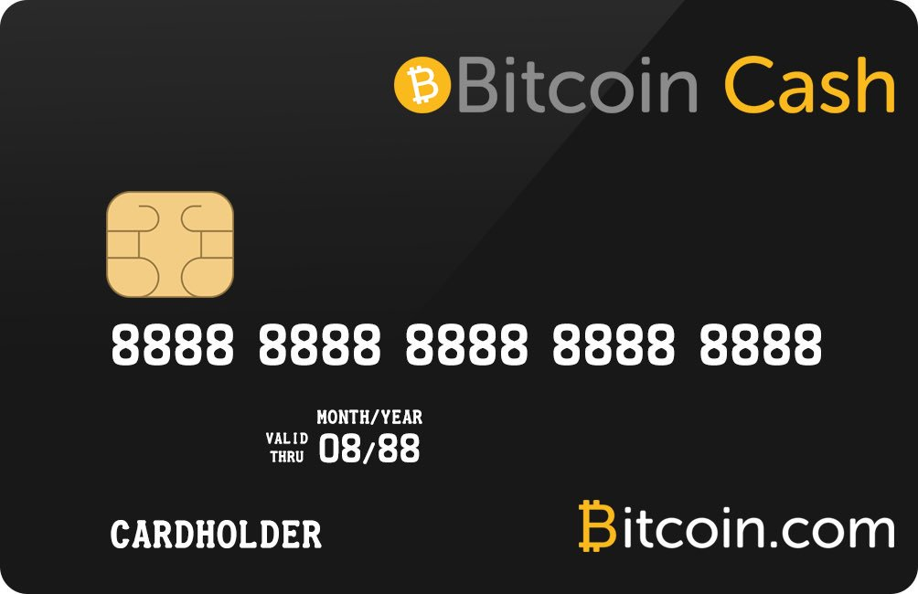 Выход карты Visa для Bitcoin Cash