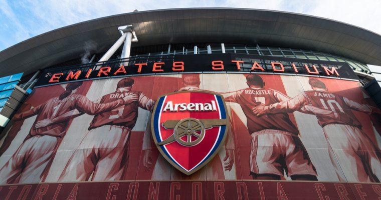 Футбольный клуб Арсенал подписал спонсорский контракт с платформой CashBet Coin