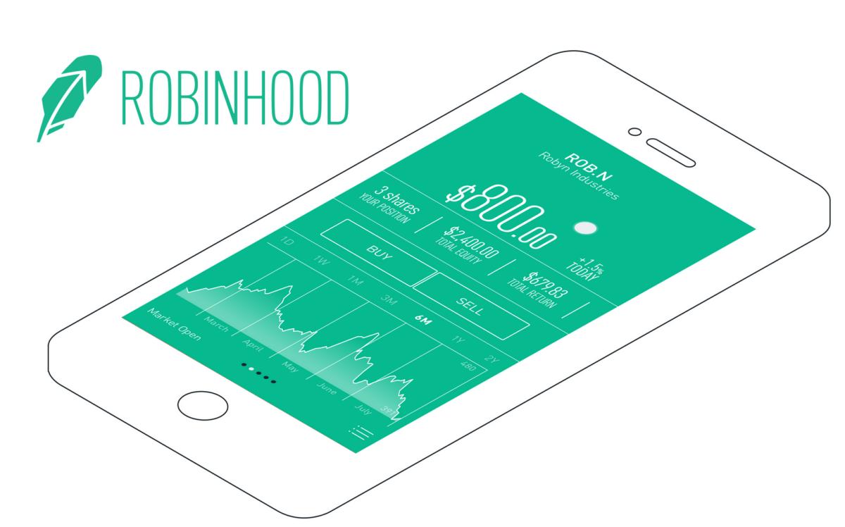 Поставщик мобильных приложений Robinhood делает ставку на торговлю криптовалютами