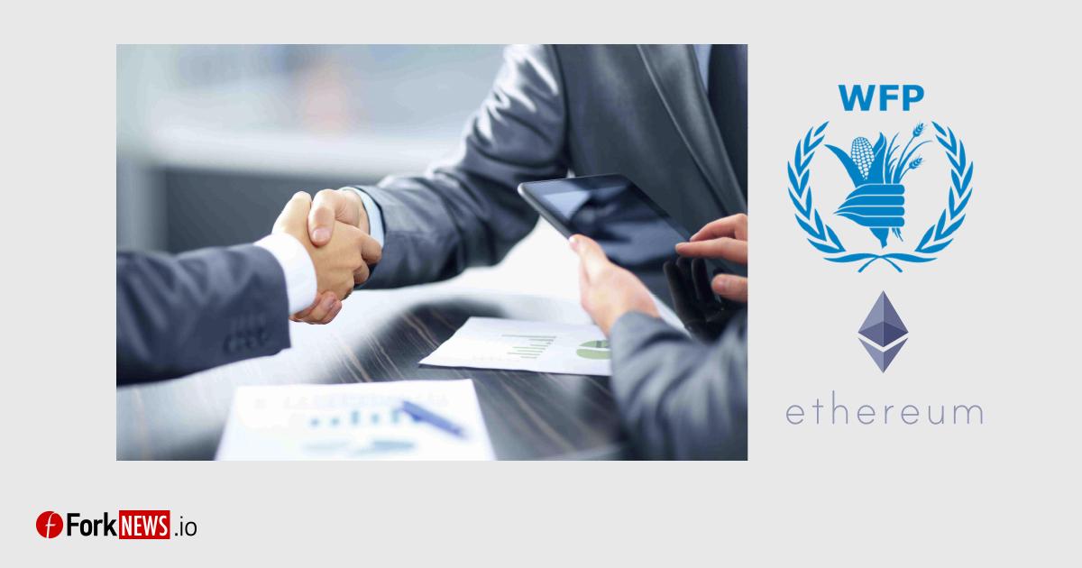 Всемирная продовольственная программа ООН предпочитает Ethereum банковской системе