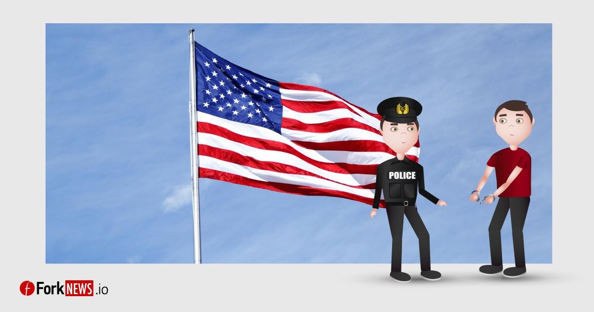 Федеральные власти США арестовали мужчину за продажу 9.99 биткойн