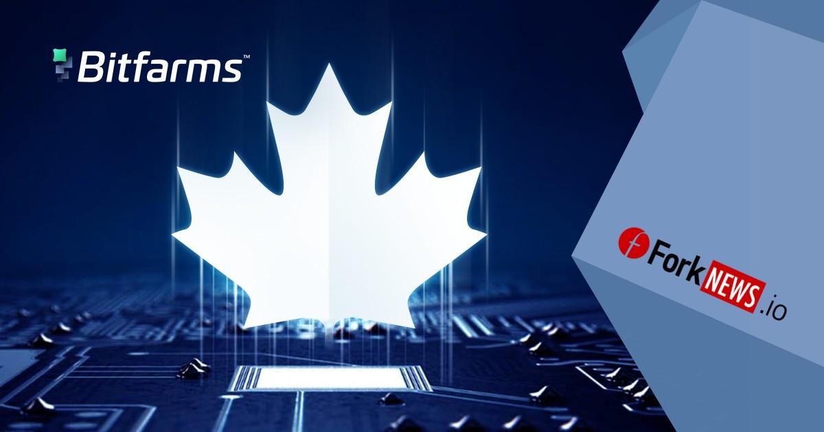Bitfarms получит 50$ млн канадских долларов на майнинг