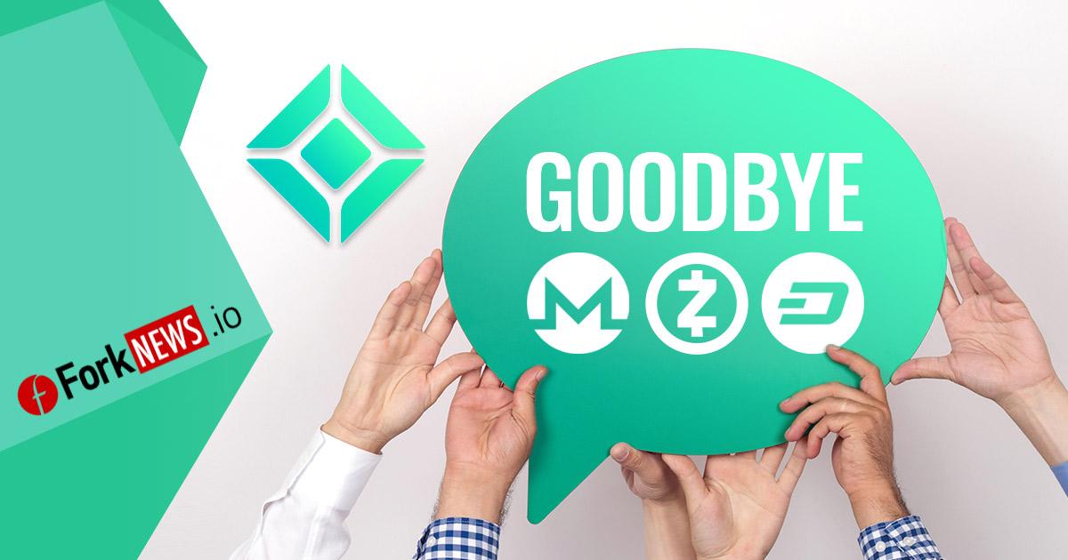 Coincheck уберет из листинга Monero, Dash и Zcash