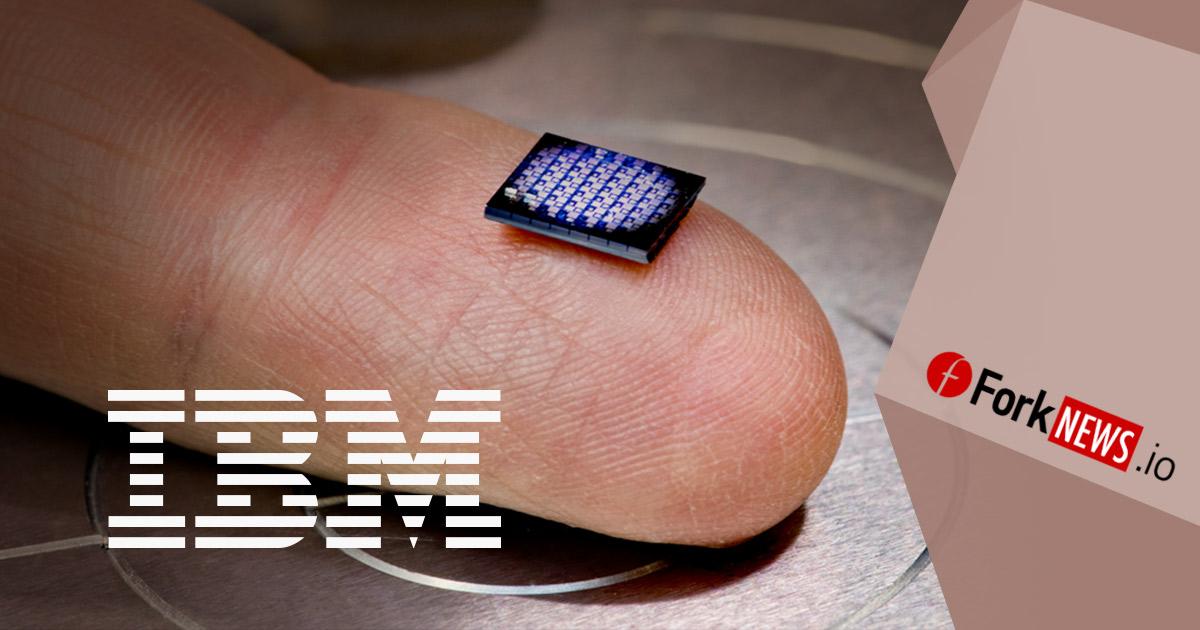 Компания IBM придумала компьютер размером с крупинку соли