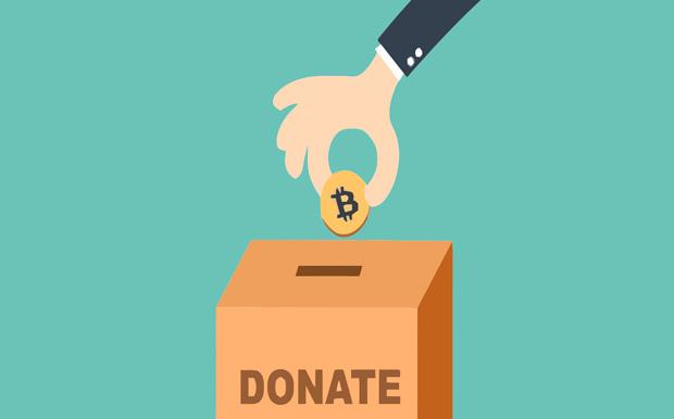 Суммы пожертвований на благотворительность в биткоинах растут