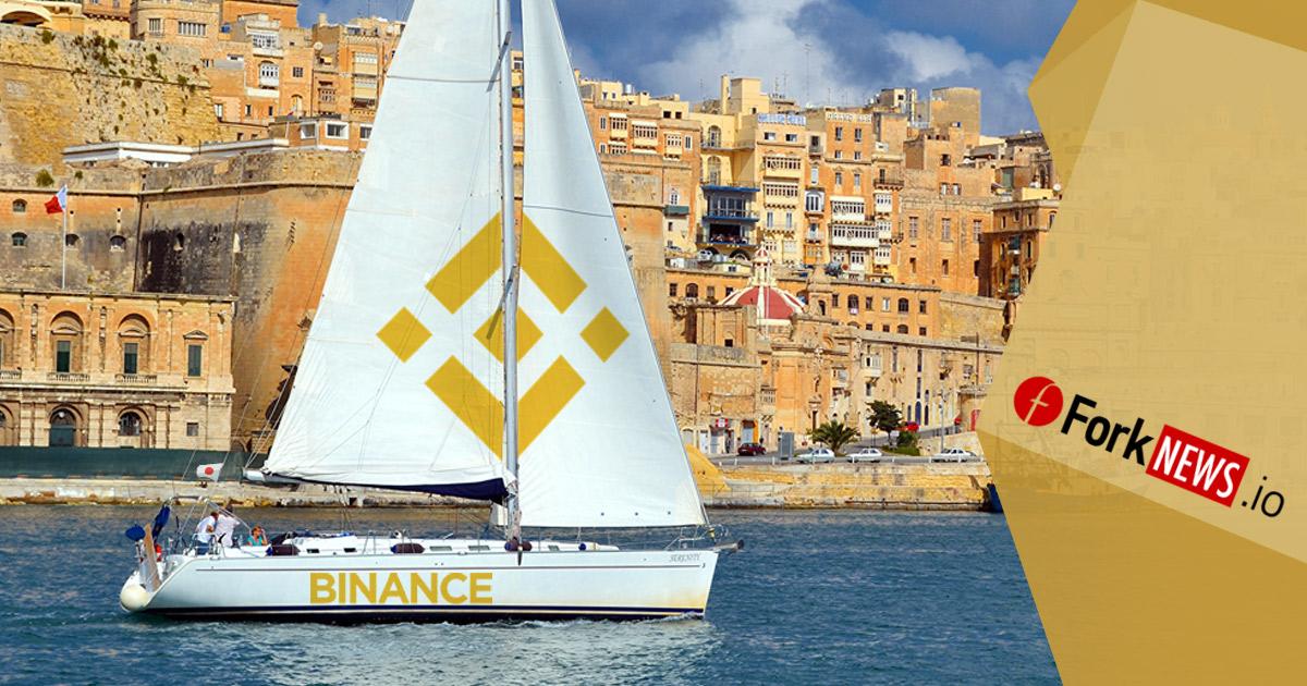 Binance перебирается на Мальту