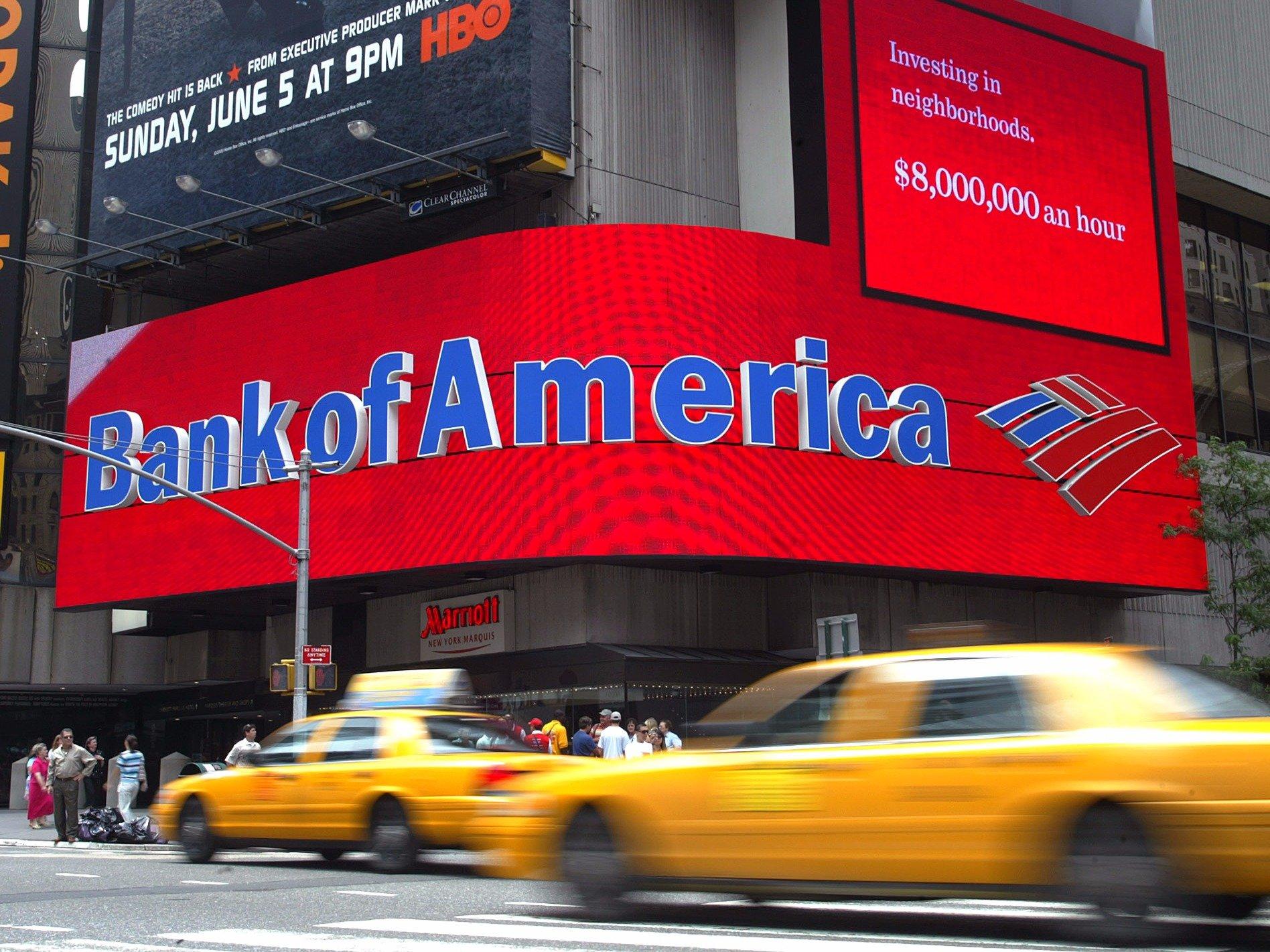 Второй по размерам банк США Bank of America заинтересован в операциях с криптовалютами