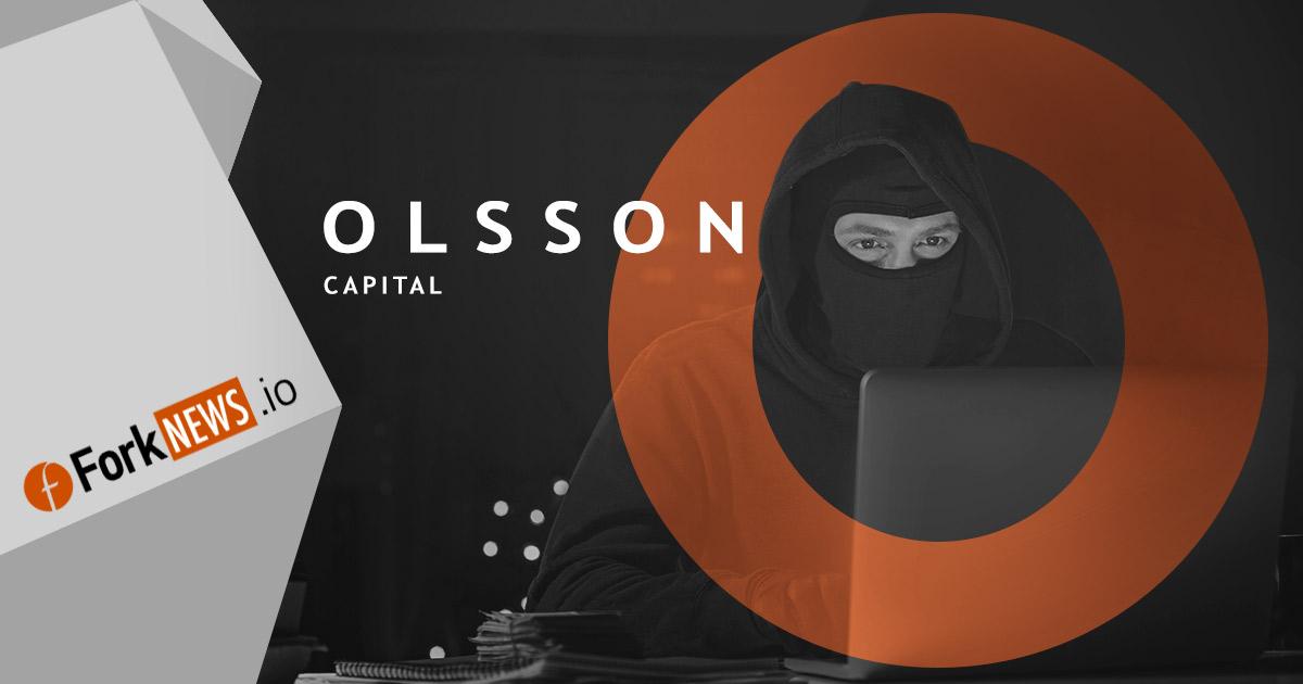 Внимание: Olsson Capital подозревается в мошенничестве