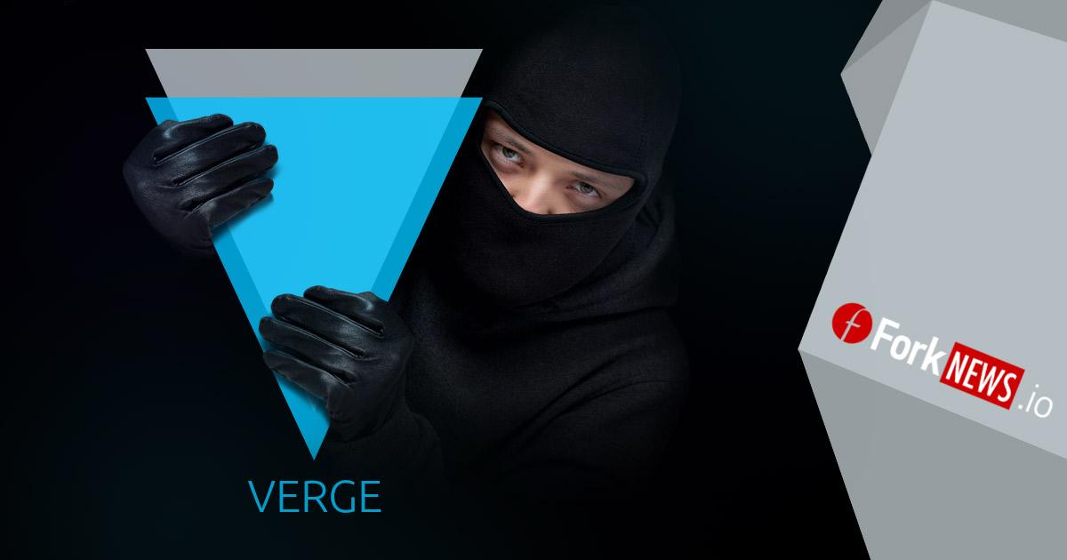 Злоумышленники использовали недоработку Verge для получения семизначных сумм