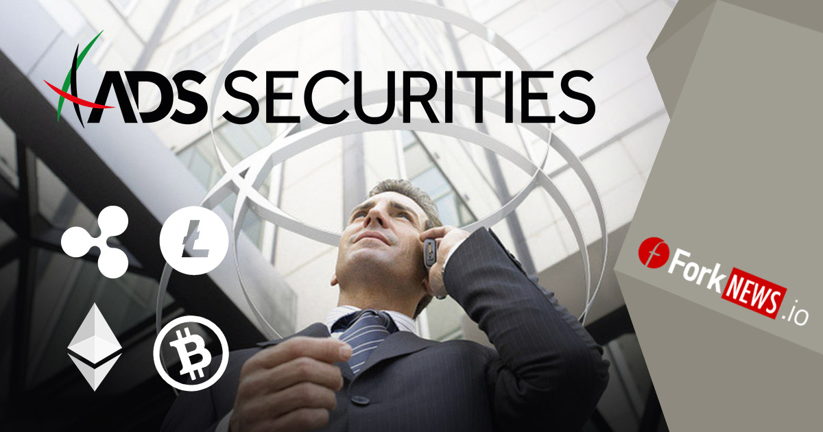 ADS Securities добавляют CFD-контракты на Bitcoin Cash, Litecoin и Ripple