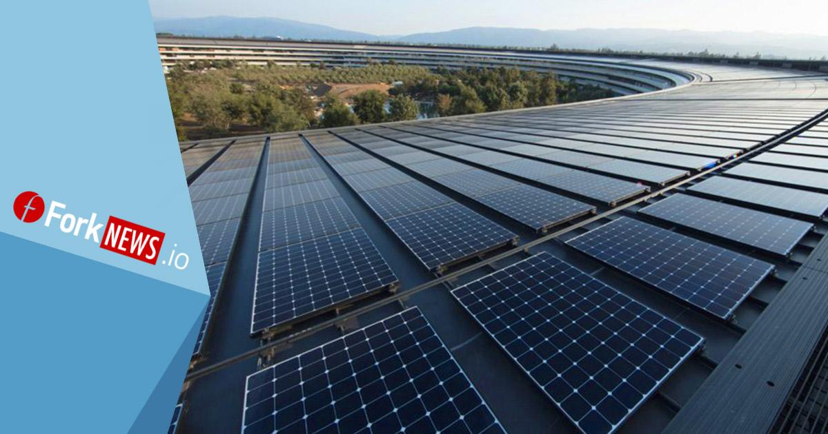 Apple объявила  о достижении нового экологического стандарта