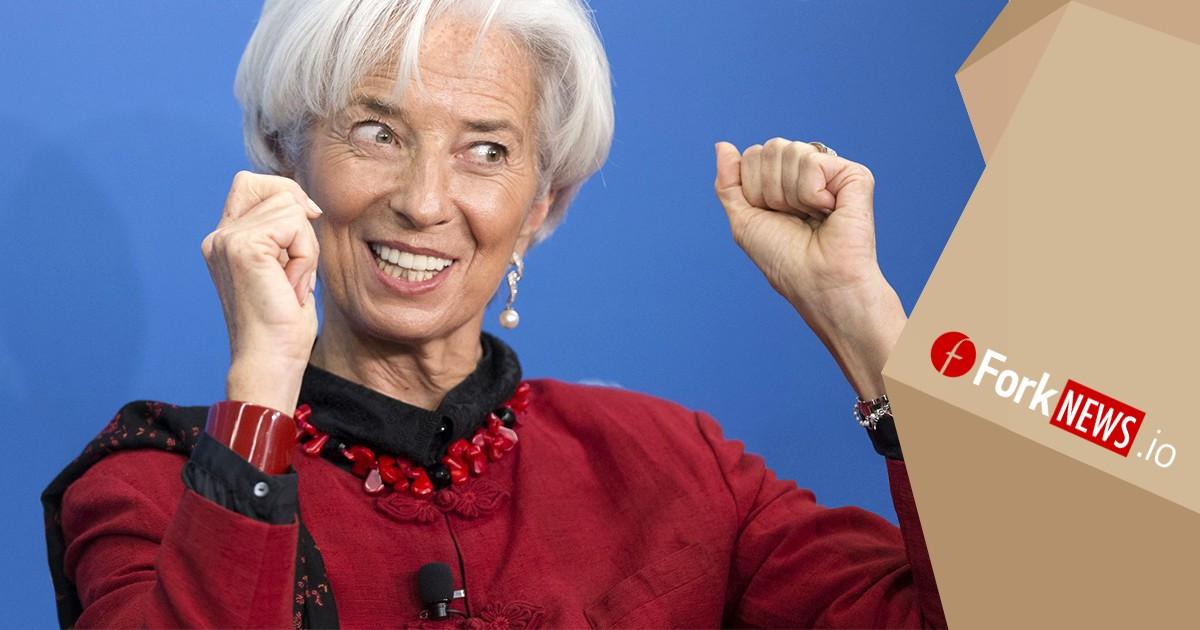 Глава МВФ изменила своё мнение о криптовалютах