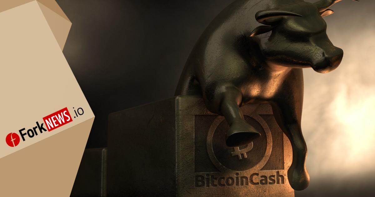 Стоимость Bitcoin Cash подбирается к отметке в $1000