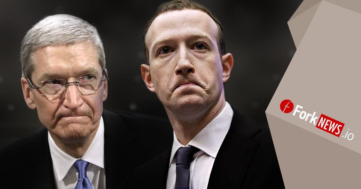 Марк Цукерберг против Тима Кука. И опять о проблеме конфиденциальности