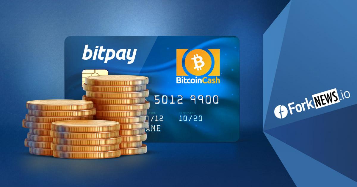BitPay поддержит розничные платежи в Bitcoin Cash