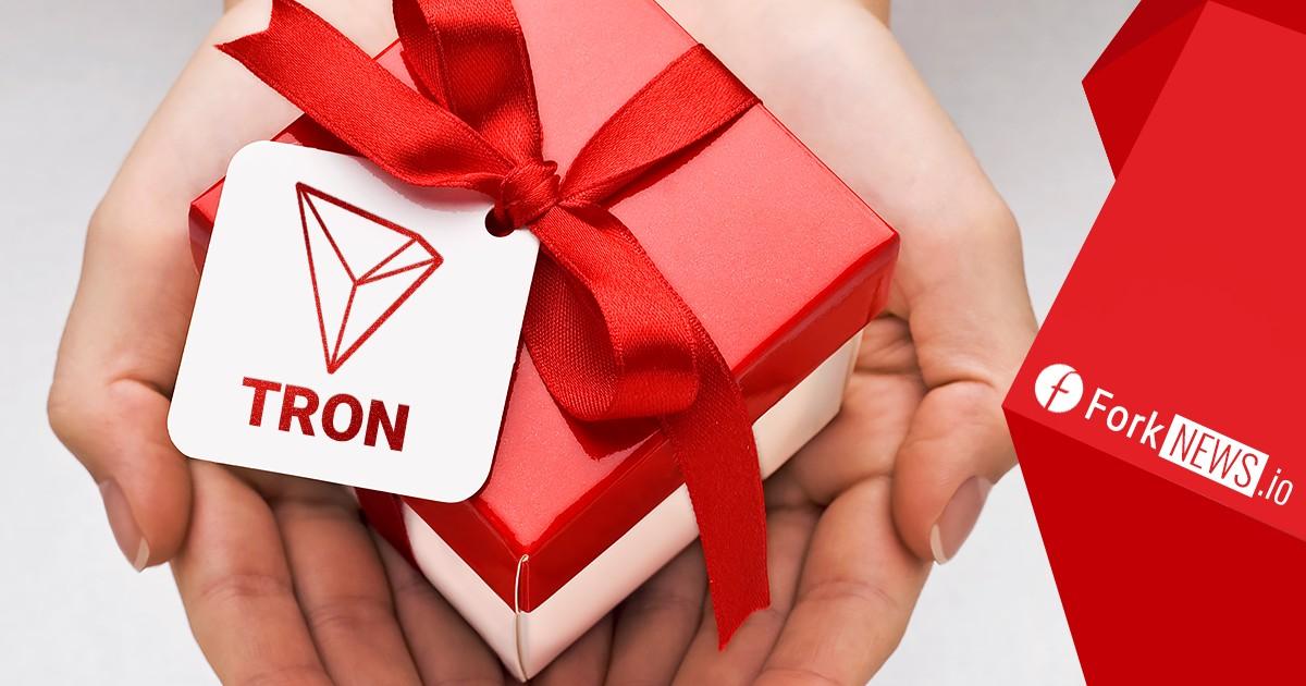 Компания Tron Foundation раздала 1,7 миллиона долларов держателям Ethereum