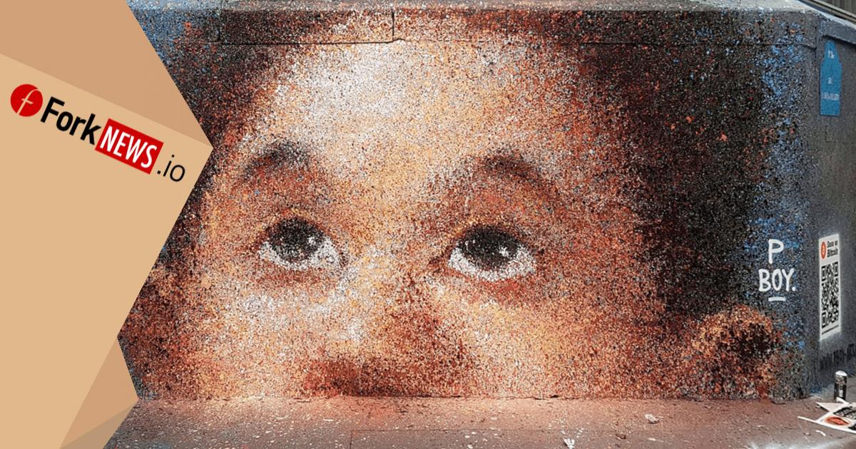 Уличный художник, рисуя граффити, заработал bitcoin на 1 000 долларов