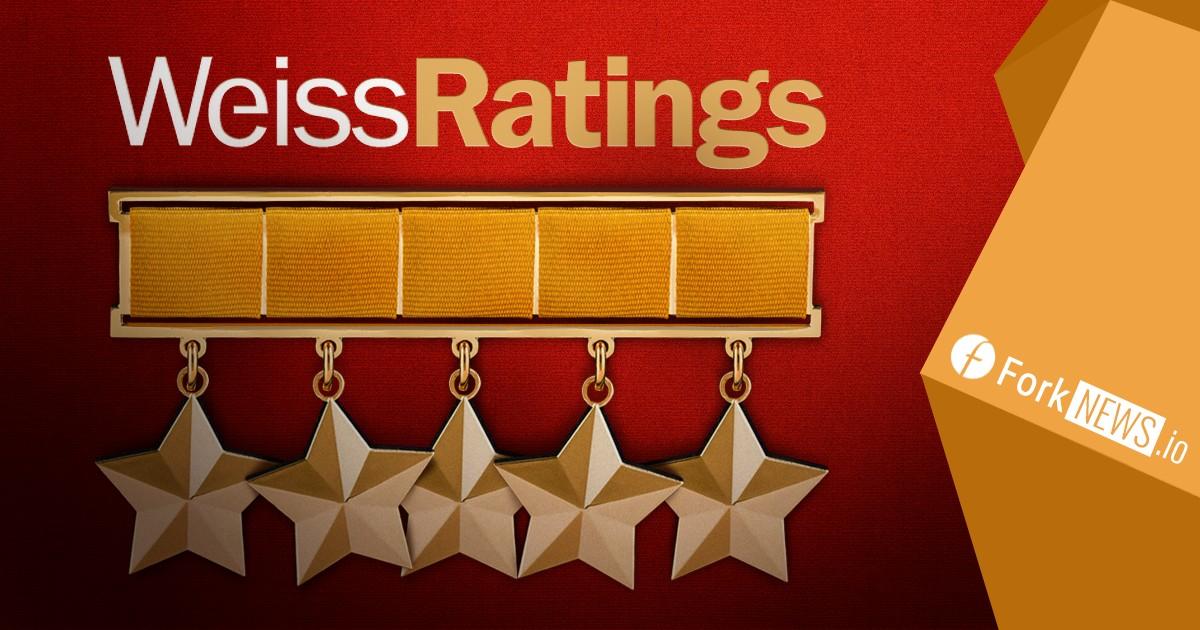Рейтинговое агентство Weiss Ratings опубликовало неплохие показатели для криптовалют