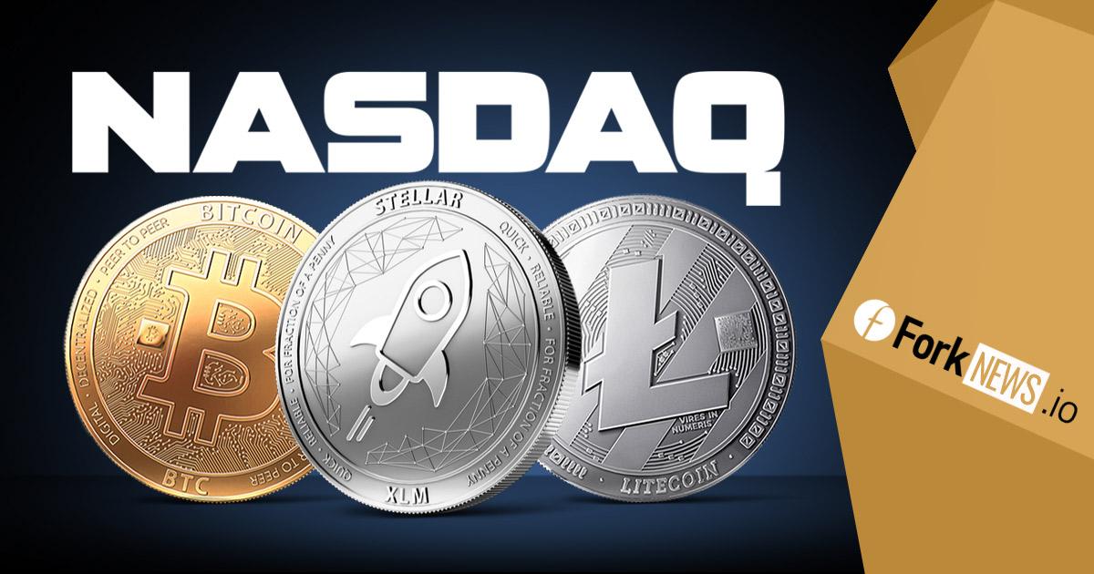 Биржа Nasdaq поддержит три популярные криптовалюты