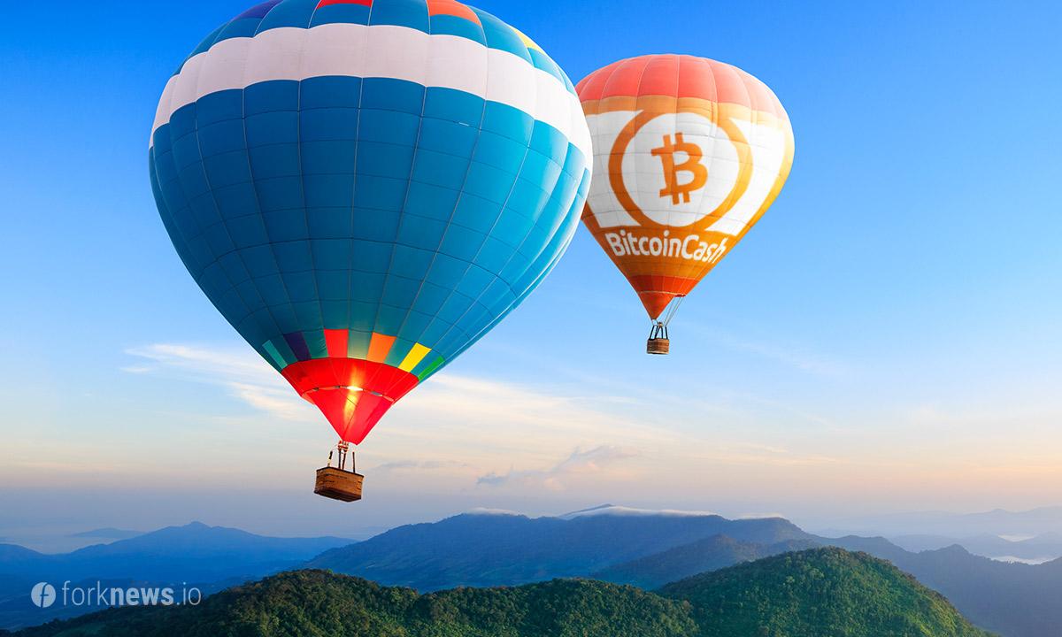 Bitcoin Cash лидирует на рынке по росту капитализации